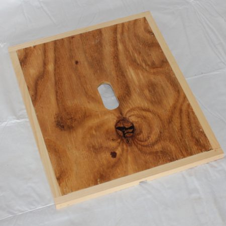 Wooden Inner Cover Inside | Beekeeping Supplies