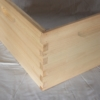 Unassembled Pine Joint