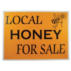 Honey Sign